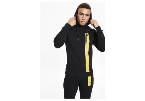 11 Degrees 11 Degrees Topaz Pullover Hoodie Black/Gold