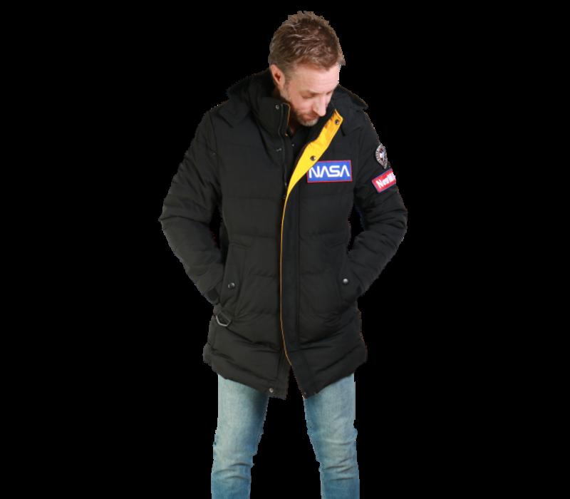 Get Well Jeans Nasa Coat Z-1584CT Black