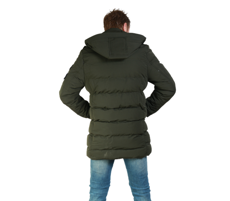 Get Well Jeans Nasa Coat Z-1584CT Army Green