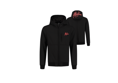Malelions Malelions Softshell Jacket Black/ Neon Red