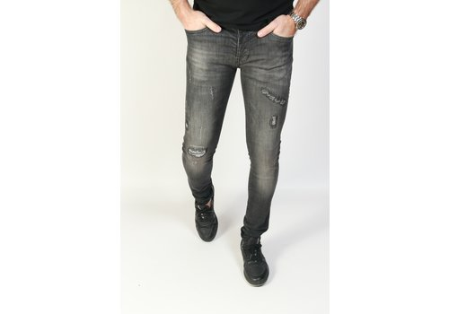Cars Jeans Cars Jeans ARON Black Used - Super Skinny Fit