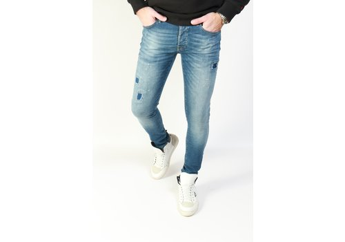 Cars Jeans Cars Jeans Aron Dark Used - Super Skinny Fit