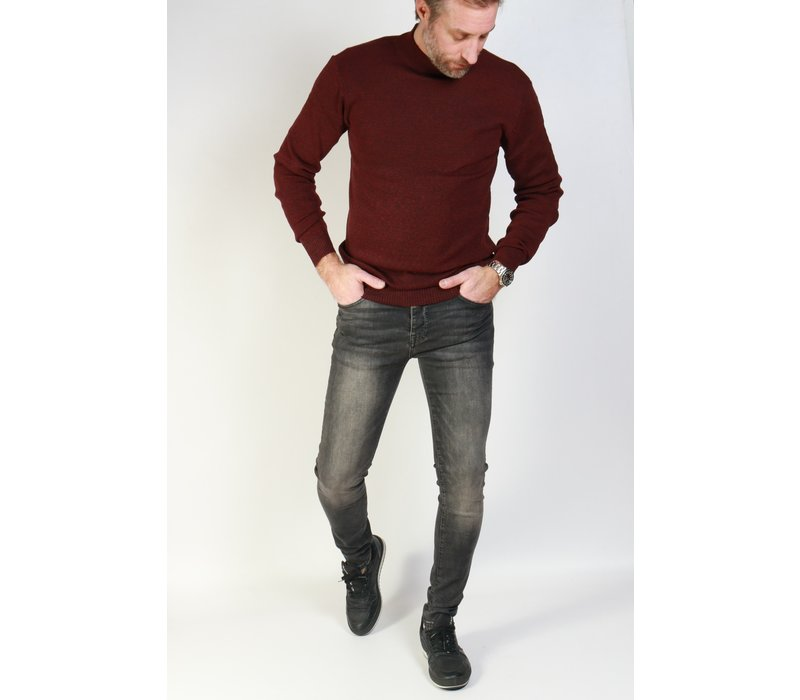 Get Well Jeans Turtleneck Bordeaux