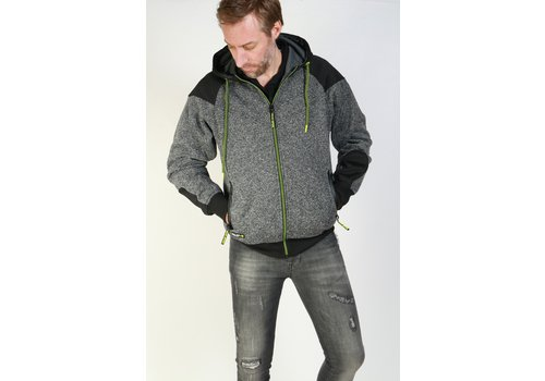 Get Well Jeans Dalef Vest Dark Grey