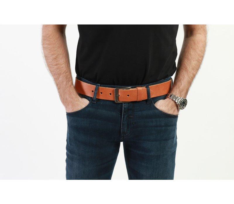 Get Well Jeans Riem Sabel 40mm Brown