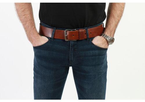 Get Well Jeans Riem Sabel 45mm Dark Brown