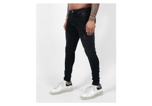 Malelions Malelions Ari Jeans Black/Neon Red