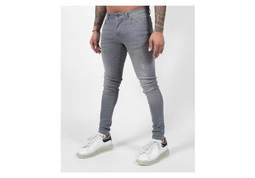 Malelions Malelions Ari Jeans Grey/Neon Yellow