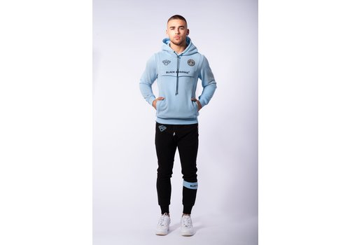 Black Bananas Black Bananas Anorak Hoody Light Blue