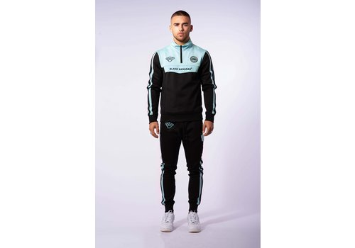 Black Bananas Black Bananas Sprint Tracksuit Black/ Mint