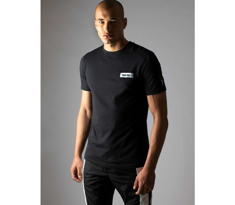 Sustain 3D Patch Regular T-shirt Black
