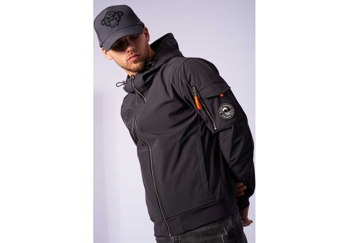 Black Bananas Black Bananas Seatle Softshell Jacket Charcoal