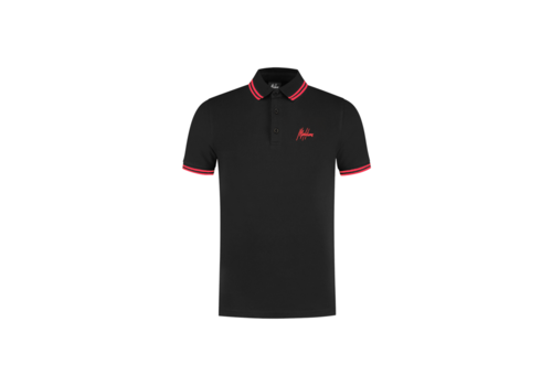 Malelions Malelions Din Polo Black/Red