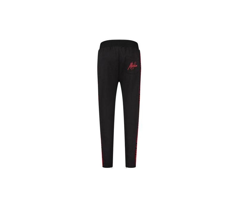 Malelions Sport Striker Trackpants Black/Neon Red
