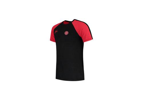 Malelions Malelions Sport Striker T-shirt Black/Neon Red