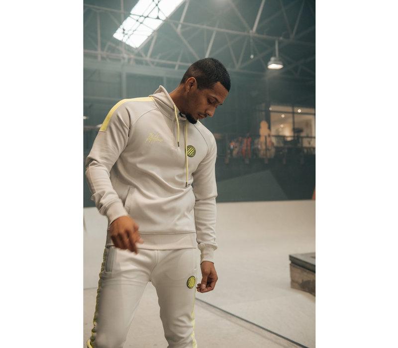 Malelions Sport Striker Hoodie Grey/Lime