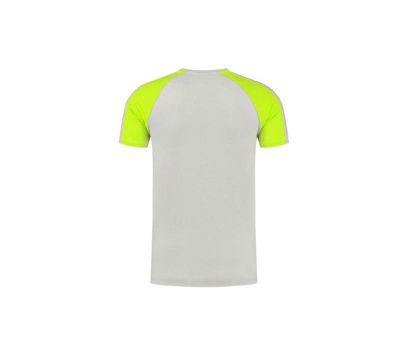 Malelions Sport Striker T-shirt Grey/Lime