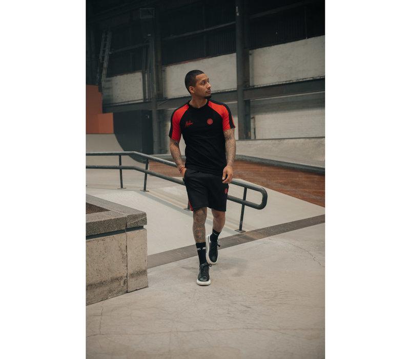 Malelions Sport Striker Short Black/Neon Red
