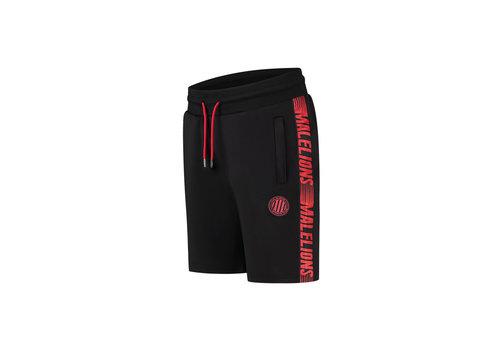 Malelions Malelions Sport Striker Short Black/Neon Red