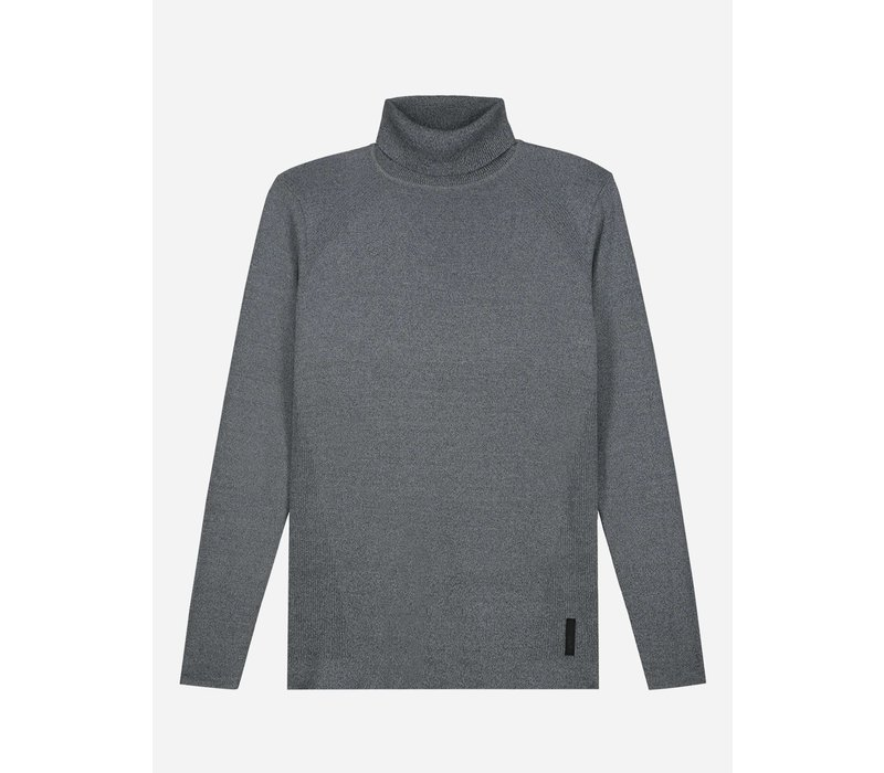 Sustain Relaxed High Neck Knit