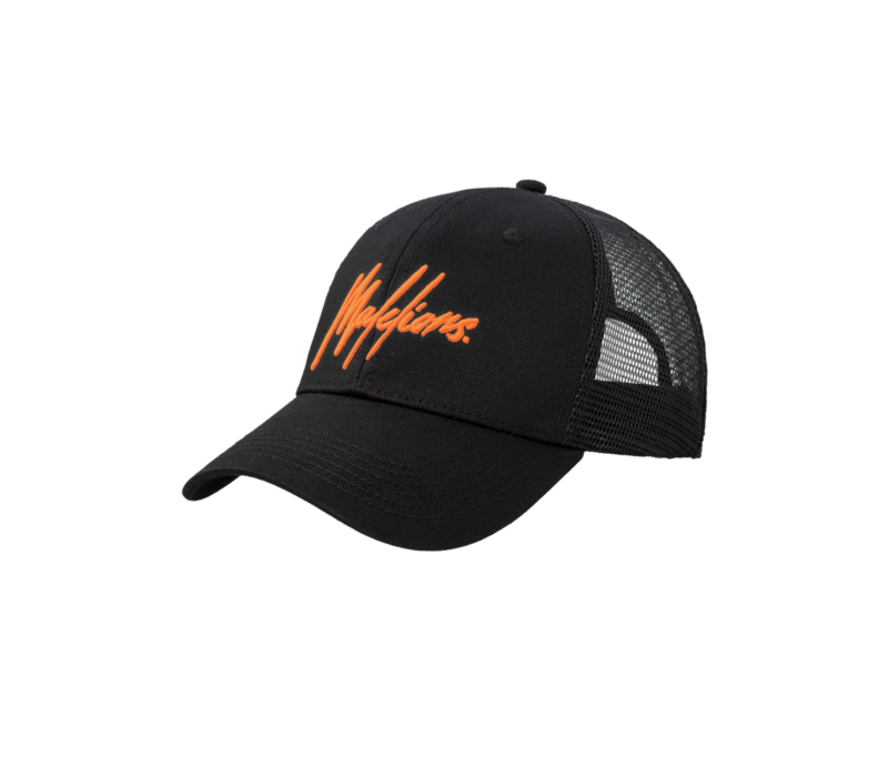 Malelions Signature Cap Black/Orange