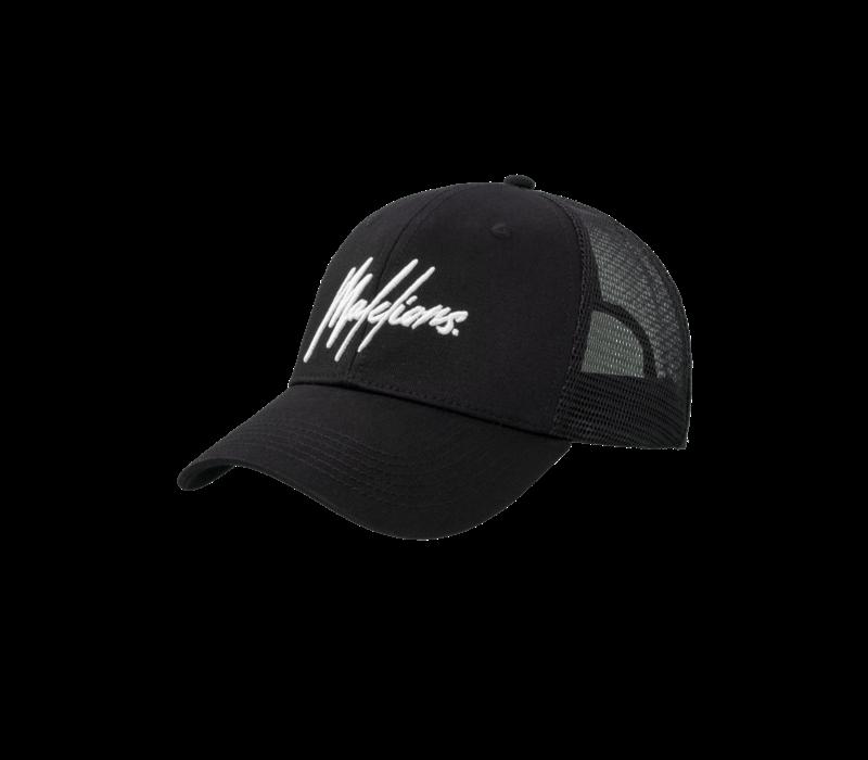 Malelions Signature Cap Black/White