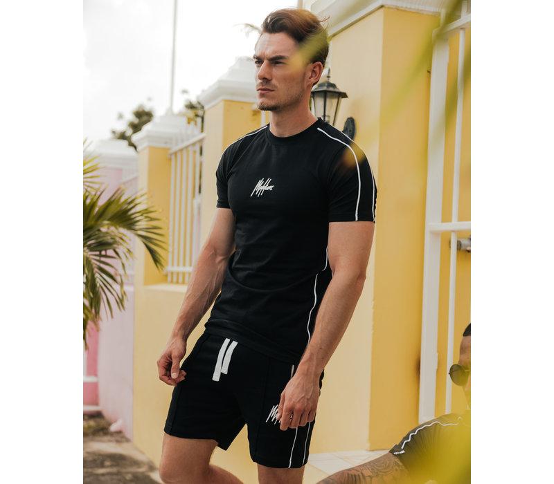 Malelions Thies T-shirt Black/White