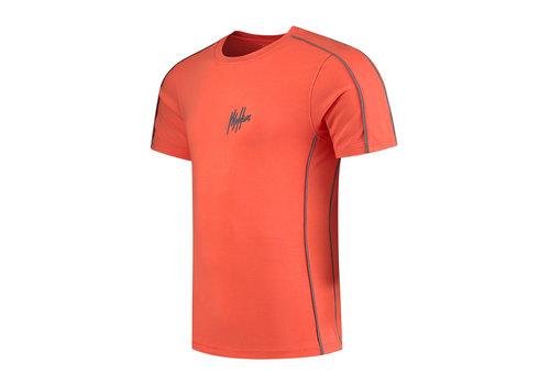 Malelions Malelions Thies T-shirt 2.0 Peach/Matt Grey