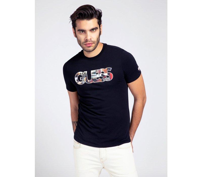Guess M1GI78J1311 T-shirt Black