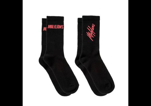 Malelions Malelions Socks Black/Red