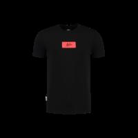 Malelions Jerra T-shirt Black/Neon Red