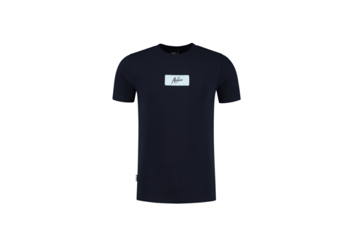 Malelions Malelions Jerra T-shirt Navy/Light blue