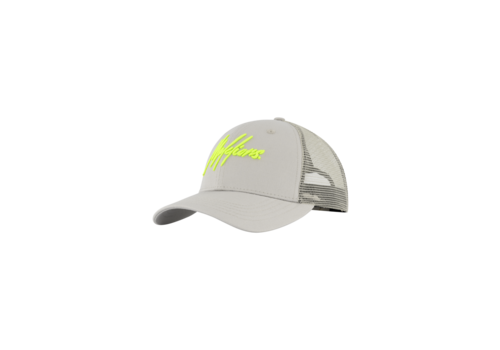 Malelions Malelions Cap Grey/Lime