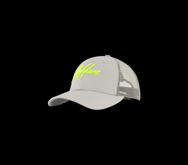 Malelions Signature Cap Grey/Lime