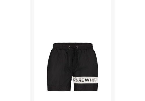 Purewhite Purewhite 21010505 Swimshort Black