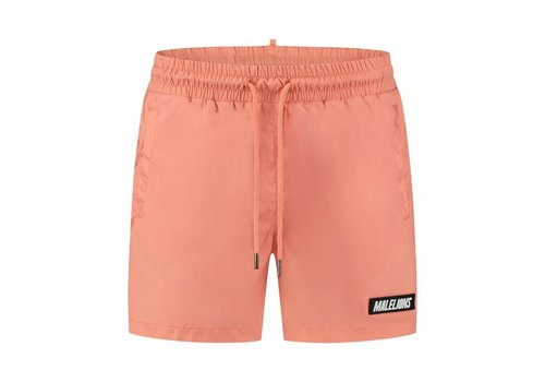 Malelions Malelions Nium Patch Swimshort Peach