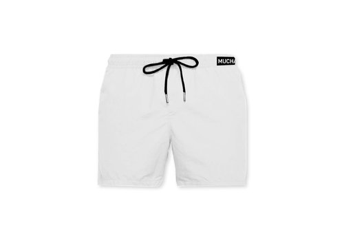 Muchachomalo Muchachomalo Swimshort SOLID2062-06 White