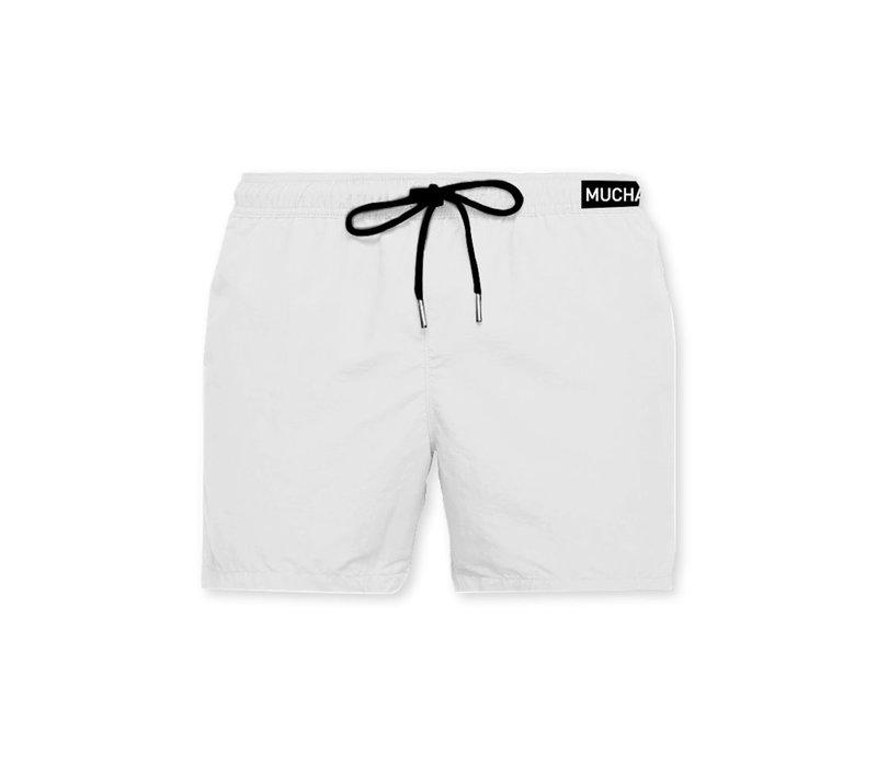 Muchachomalo Swimshort SOLID2062-06 White