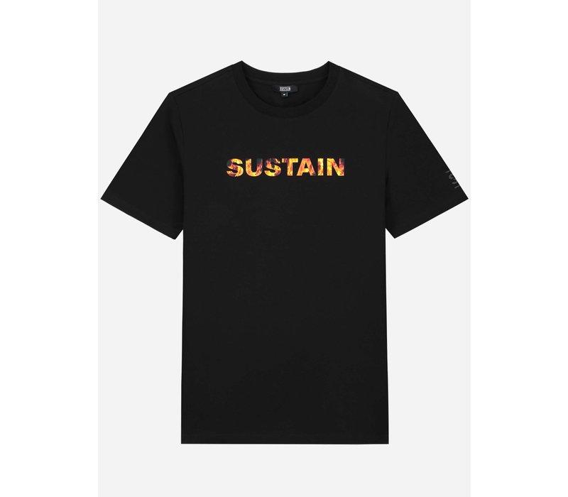 Sustain Flame Logo Regular Black