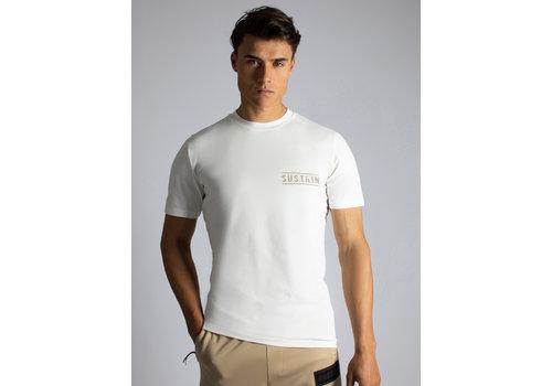 Sustain Sustain Back Logo Regular Off White