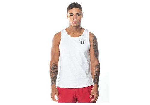 11 Degrees 11 Degrees Core Vest White