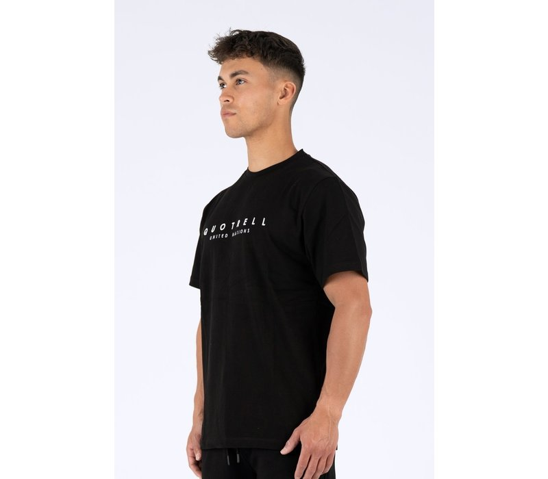 Quotrell United As One T-Shirt Black