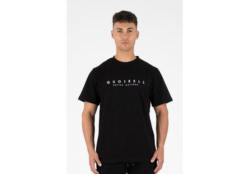 Quotrell Quotrell United As One T-Shirt Black