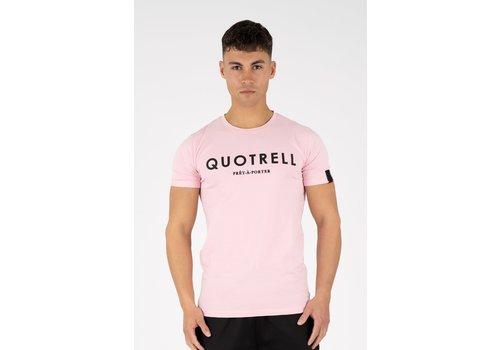 Quotrell Quotrell Basic T-shirt Purple
