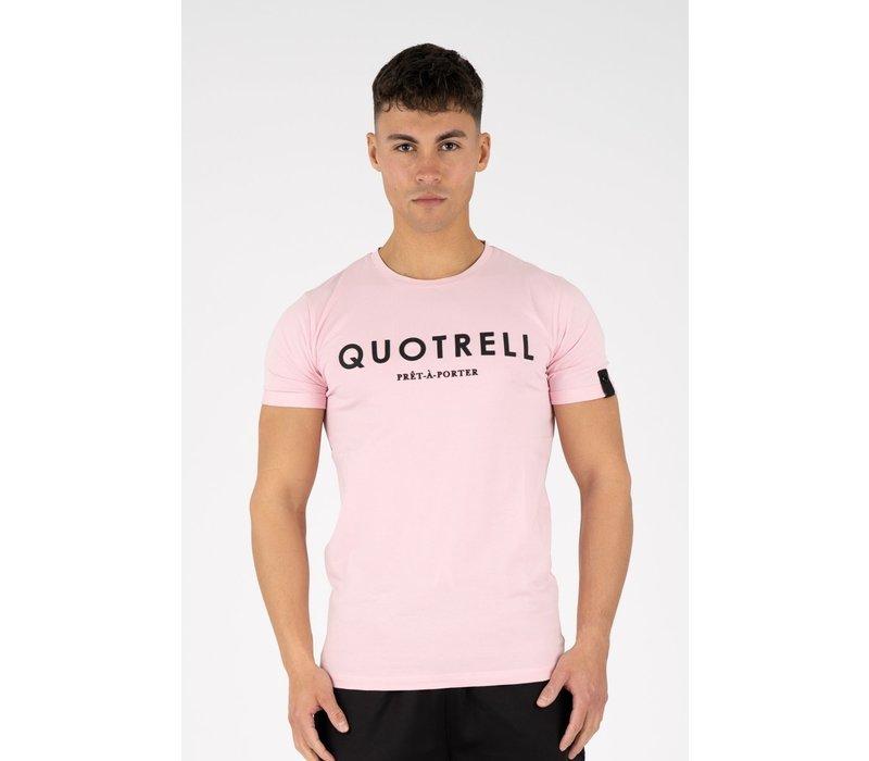 Quotrell Basic T-shirt Purple