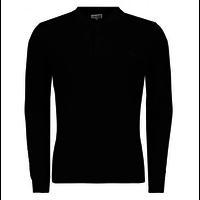 Sauvage Rudi Longsleeve Polo Black