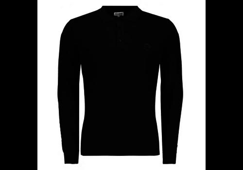 Sauvage Sauvage Rudi Longsleeve Polo Black