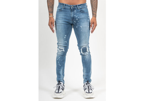 Malelions Malelions Ripped and Repaired Jeans