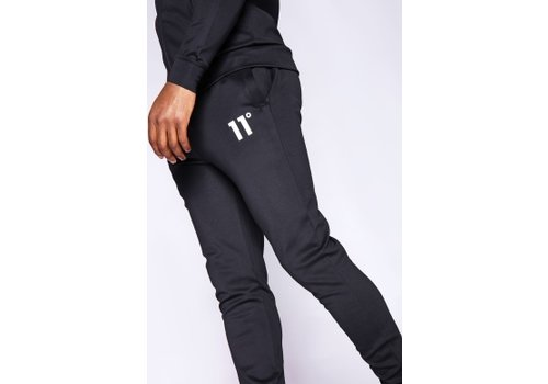 11 Degrees 11 Degrees Core Poly Trackpants Black