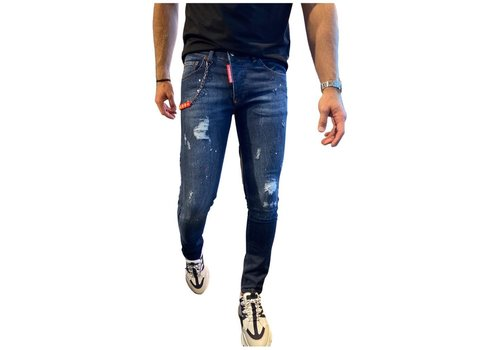 Get Well Icon Jeans 9740 Blue